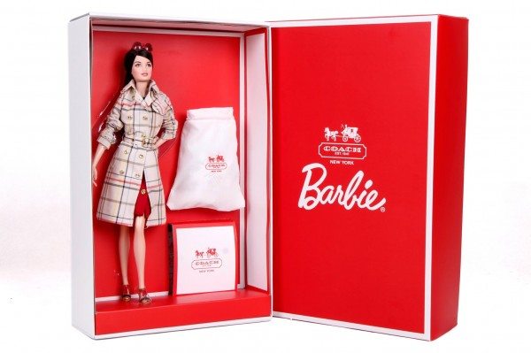 Coach Barbie collector