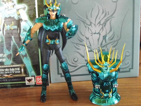 Review Saint SEiya Myth Cloth EX Dragon v2