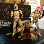 Star Wars Republic Gunship : les figurines incluses