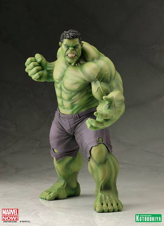 Marvel Comics Hulk Avengers Now ARTFX+ Statue