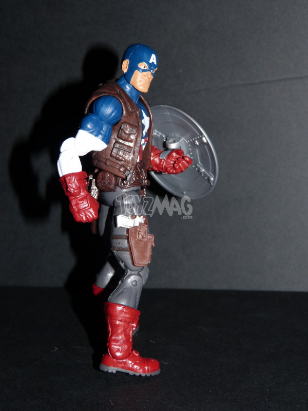 Marvel legends captain america ultimate Toyzmag 9