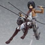 Une figma de Mikasa Ackerman