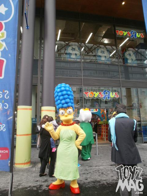 inauguration Toys R Us Rive Gauche