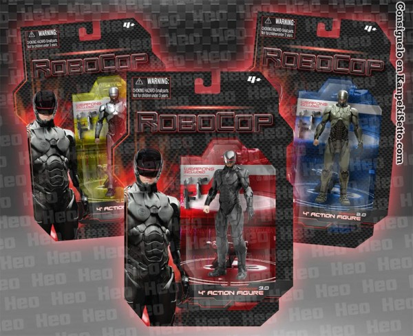 Robocop-4-Inch-Action-Figures