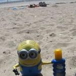boris colletier minion sur plage damgan