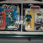 Exceptionnelles Cartes Carrées Meccano Star Wars d'un collectionneur anonyme