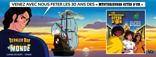 Dédicace Les Mystérieuses Cités d'Or, le livre.