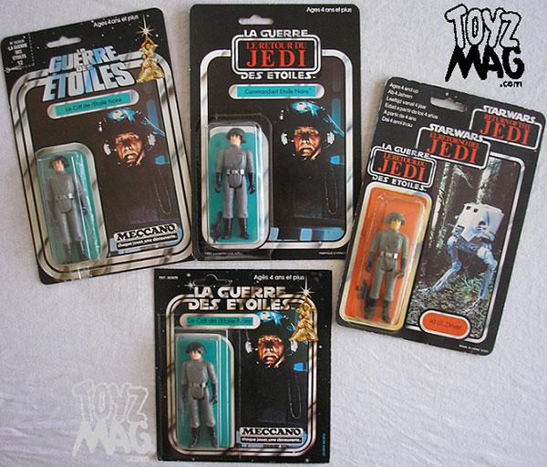 Death Star Commander les cartes Meccano