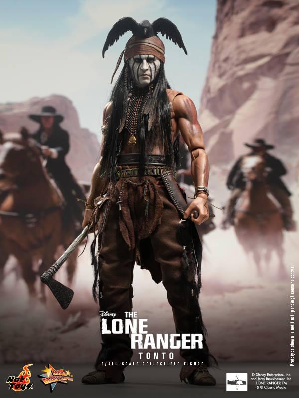 hot toys lone ranger tonto 2