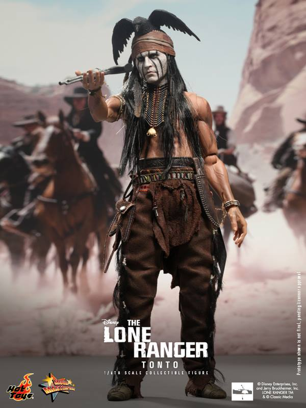 hot toys lone ranger tonto 3