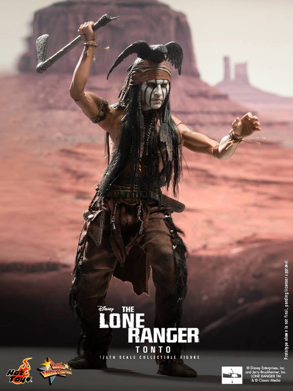 hot toys lone ranger tonto 5