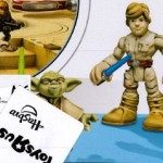 Review Playskool Heroes Yoda & Luke Skywalker…