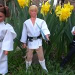 jean-loui simon 3 poupées star wars meccano 1978 jardin