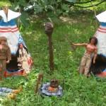 jean-louis simon vilage indien gig jim karl may dans jardin