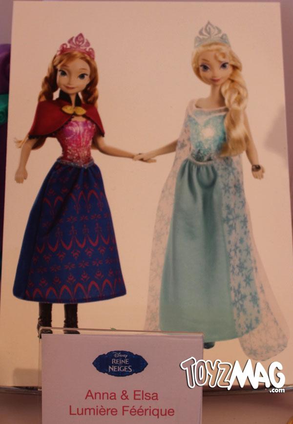 la reine des neiges poupées mattel
