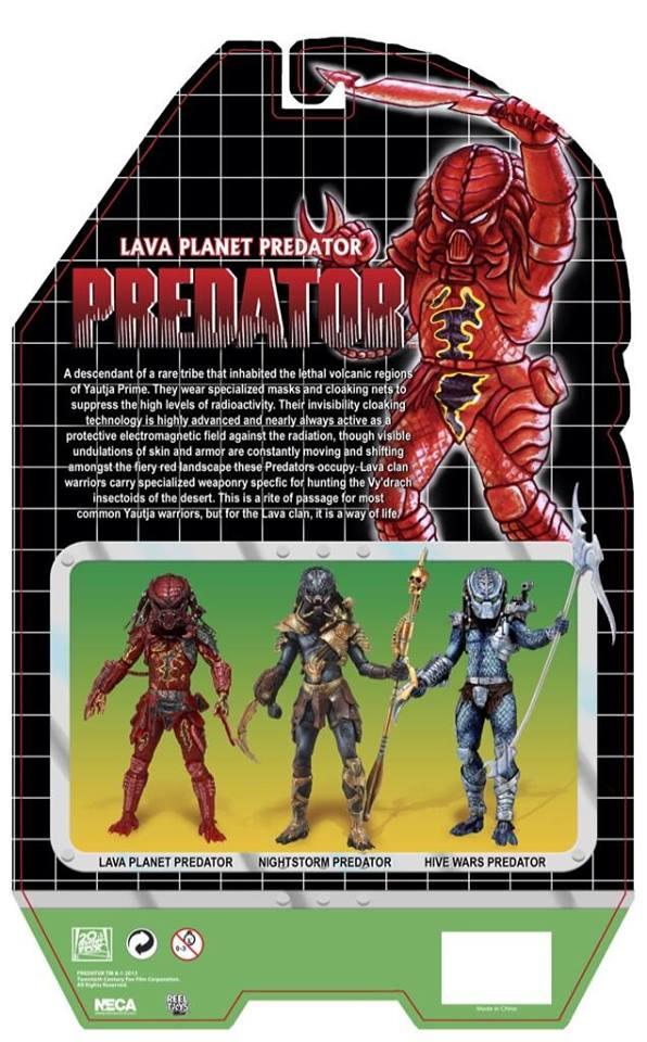 lava planet predator neca kenner