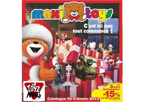 catalogue de noël 2018 maxi toys ToyzMag.» Noel 2013 : le catalogue Maxi Toys catalogue de noël 2018 maxi toys