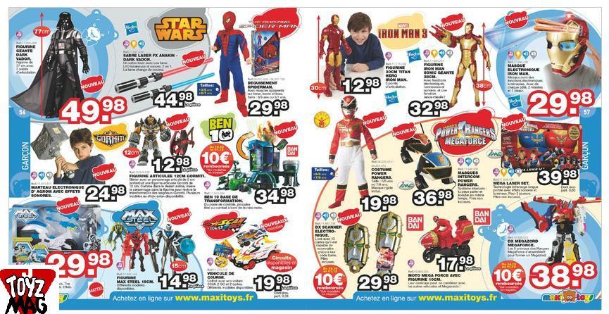 Masque de Spiderman  Jeu d'action: 12,99€ Maxi Toys