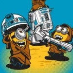 Ript Apparel : cross-over Star Wars / Moi Moche et Méchant sur des T-shirts