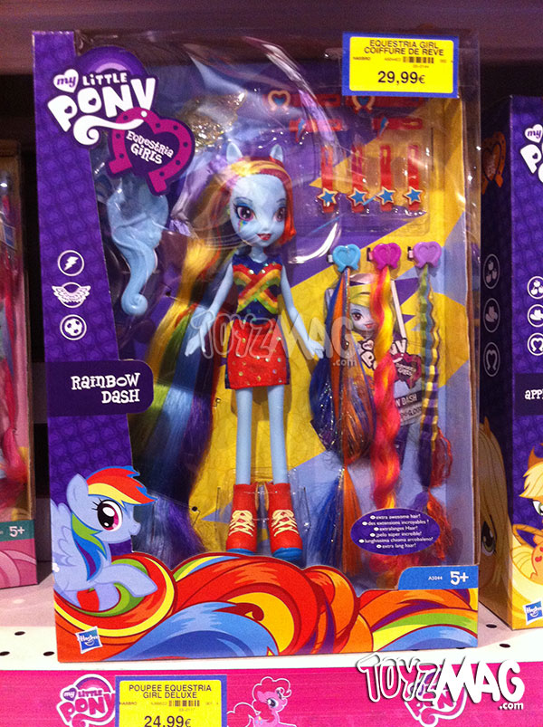 Poupée My Little pony Equestria girls