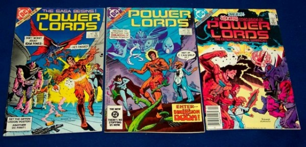 Comic DC Power Lords