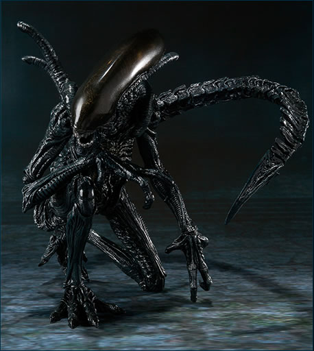 sh monster arts bandai alien avp 5