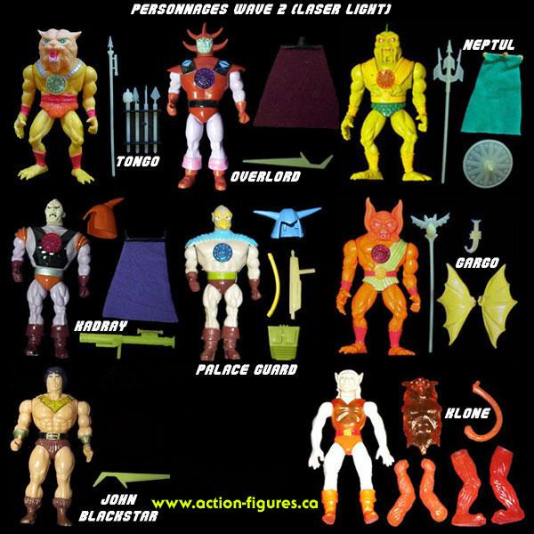 Bravestar jouet serie 2