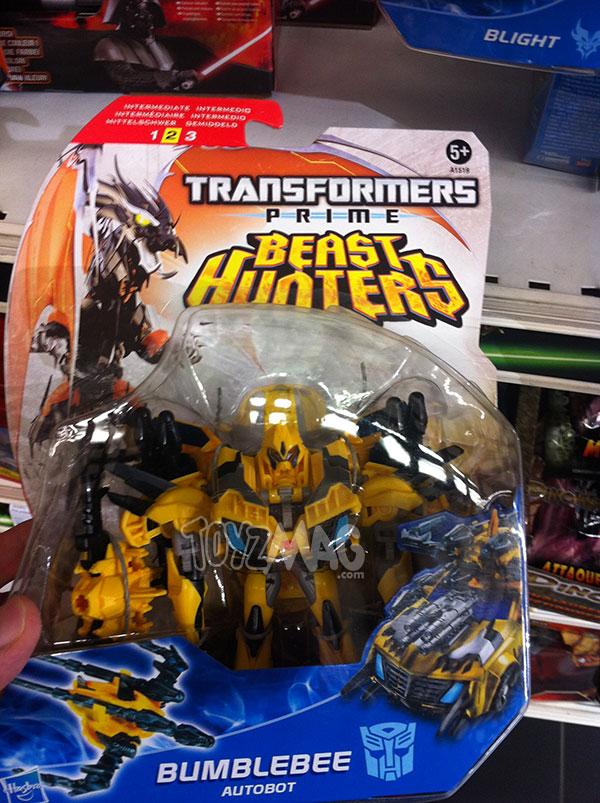 Bumblebee Transformers Prime Beast Hunter