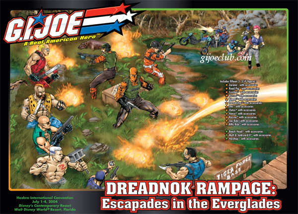 Dreadnok Rampage Convention set : (c) GijoeClub