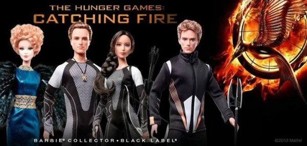Hunger games barbie collector NYCC2013