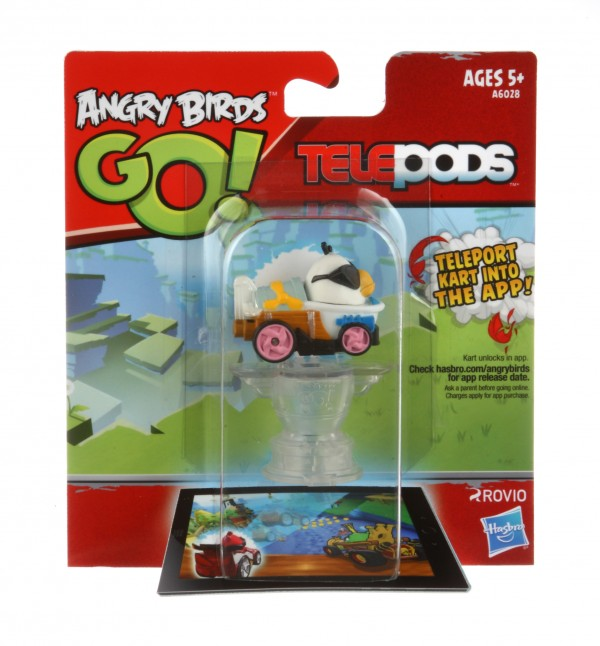 how to scan angry birds go telepods