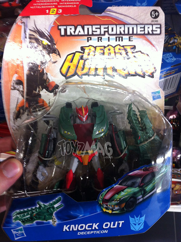 Knock Out Transformers Prime Beast Hunter