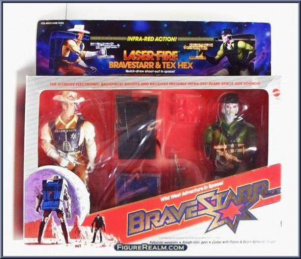 Laser Fire BraveStarr Tex Hex