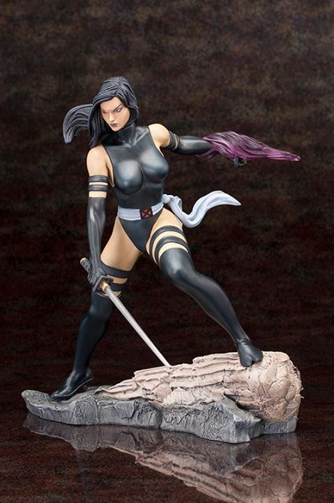 Marvel - Psylocke X-Force Fine Art Statue