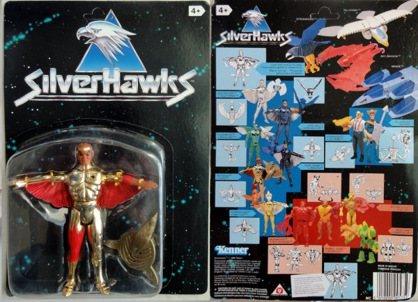 SILVERHAWKS-HOTWING-KENNER