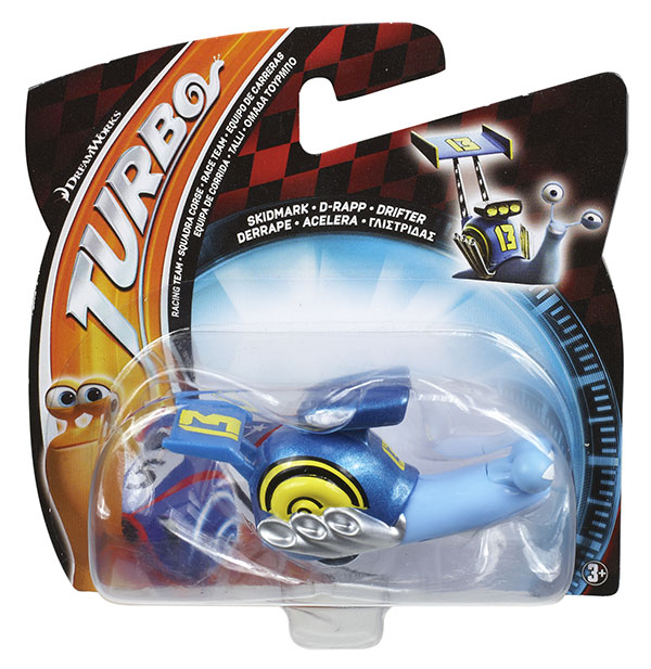 Turbo Mattel micro escargots