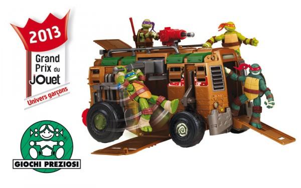 Grand Prix du jouets 2013 : Univers garçons Camion de combats Tortues Ninja GIOCHI PREZIOSI