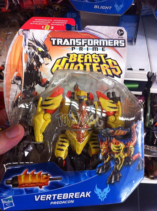 Vertebreak Transformers Prime Beast Hunter