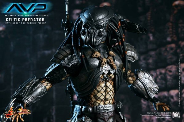 avp celtic predator hot toys toyzmag 1