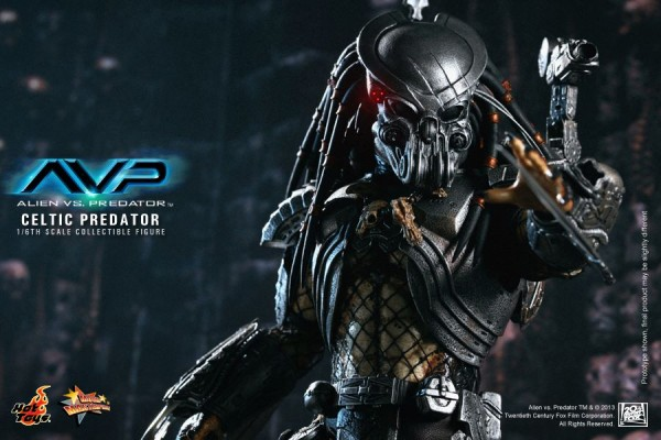 avp celtic predator hot toys toyzmag 10