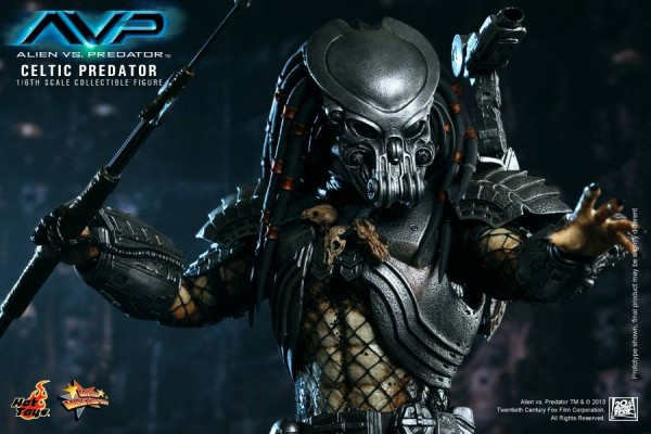 avp celtic predator hot toys toyzmag 12