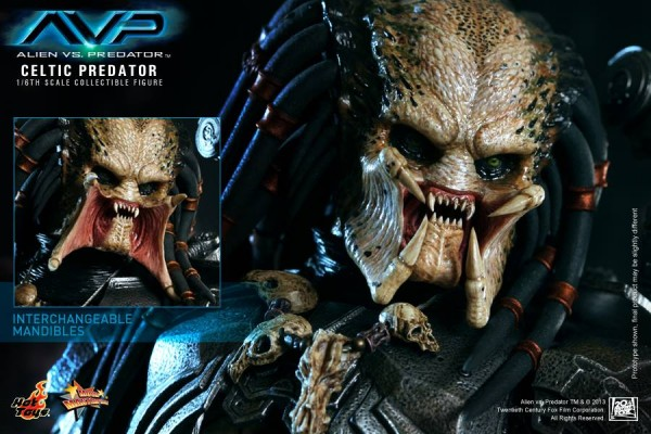 avp celtic predator hot toys toyzmag 13