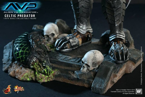 avp celtic predator hot toys toyzmag 14
