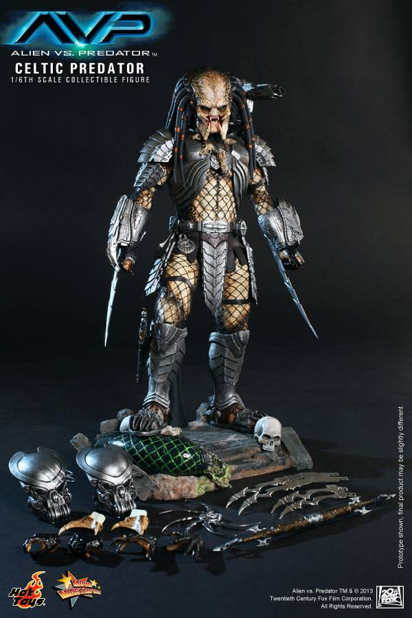 avp celtic predator hot toys toyzmag 16
