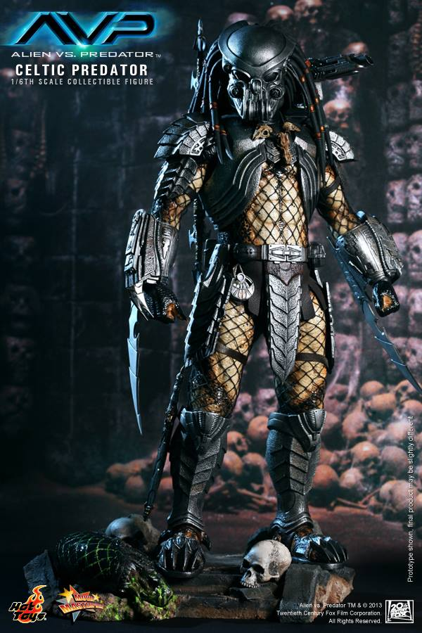 avp celtic predator hot toys toyzmag 2
