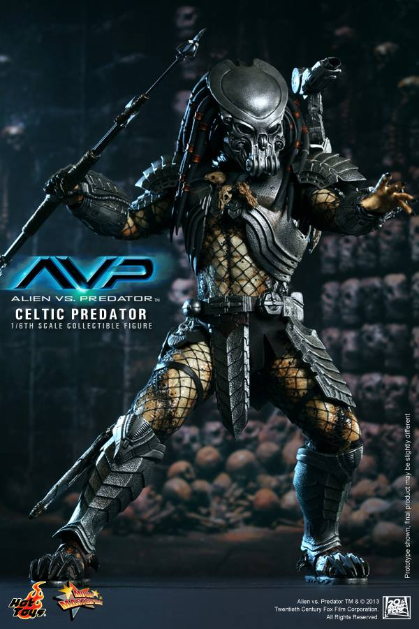 avp celtic predator hot toys toyzmag 4
