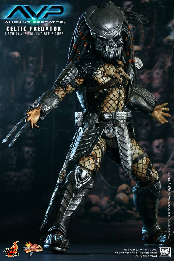 avp celtic predator hot toys toyzmag 5