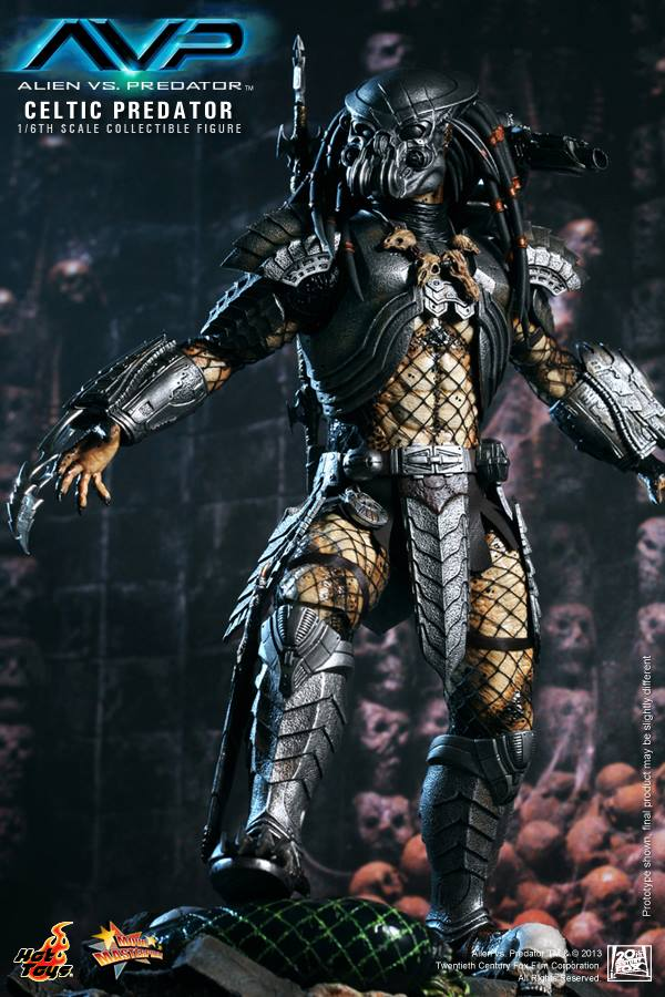 avp celtic predator hot toys toyzmag 6