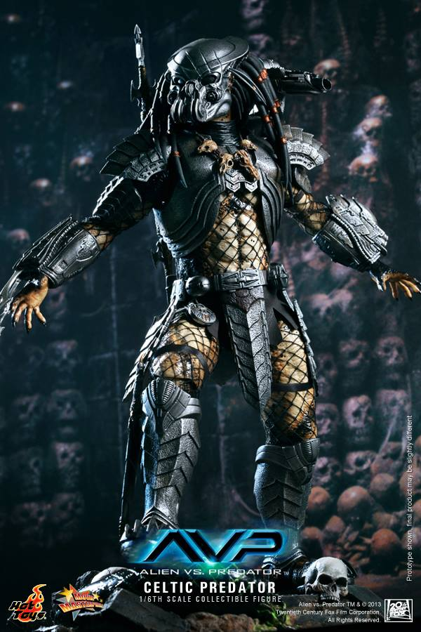 avp celtic predator hot toys toyzmag 7