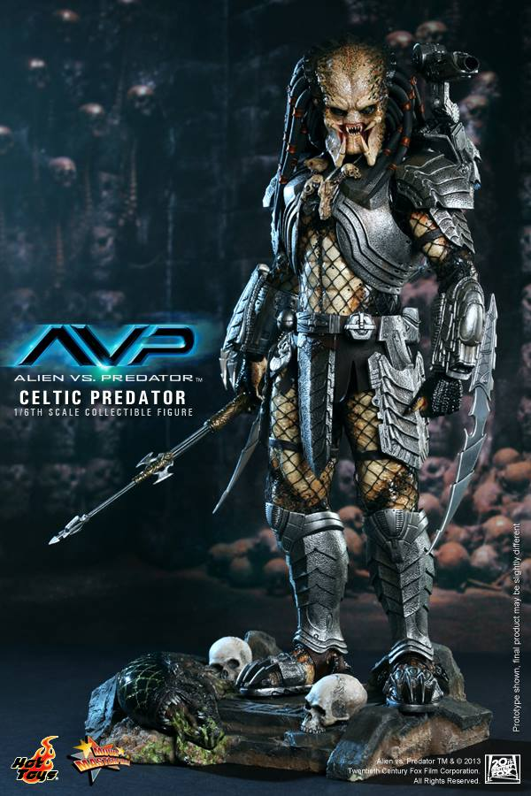 avp celtic predator hot toys toyzmag 8